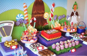 Bolo Willy Wonka