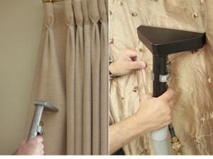 limpeza de cortinas